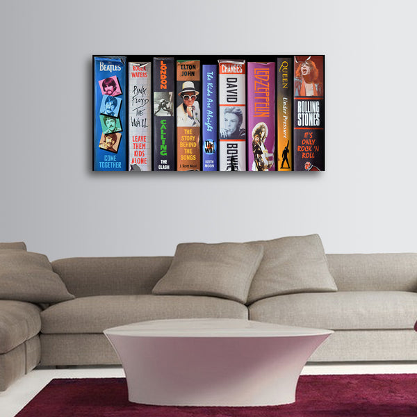 British Rock - LE Canvas Prints