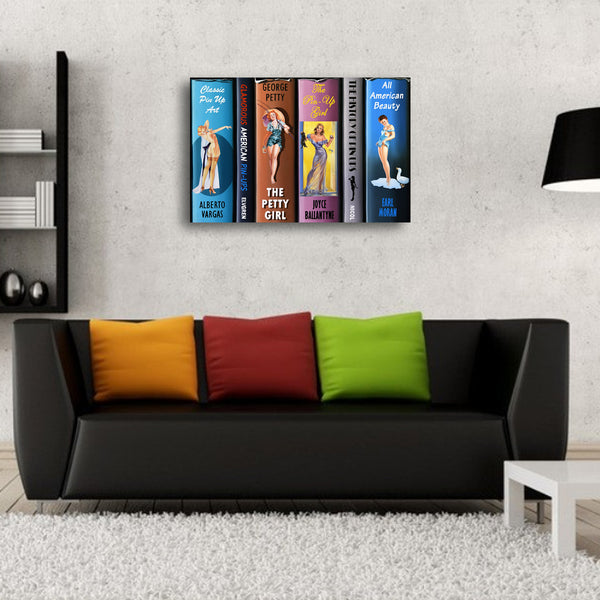 Pin Ups - LE Canvas Prints