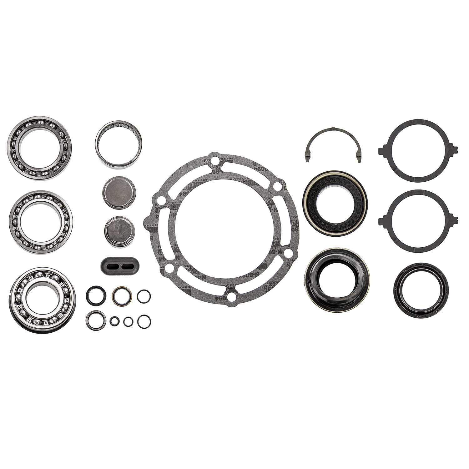 Rigid Axle New Process NP263XHD Transfer Case Bearing Gasket and Seal Kit