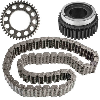 transfer case chain and sprockets