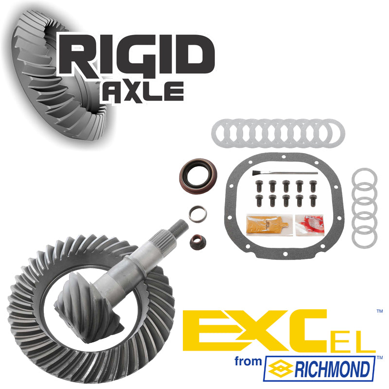 Ford 8.8 inch 10 Bolt Richmond Excel Ring and Pinion Gear Set Package with Master Install Kit