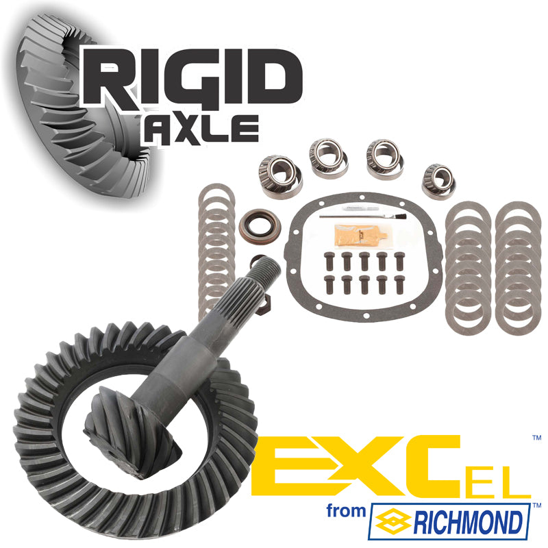 RICHMOND EXCEL 3.42 RING AND PINION /& MASTER INSTALL KIT GM 7.625 10 BOLT