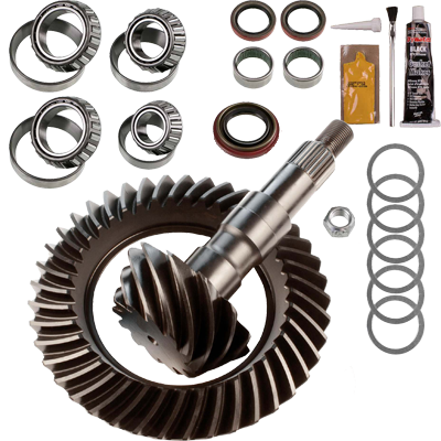 ring and pinion gear set install bearing package