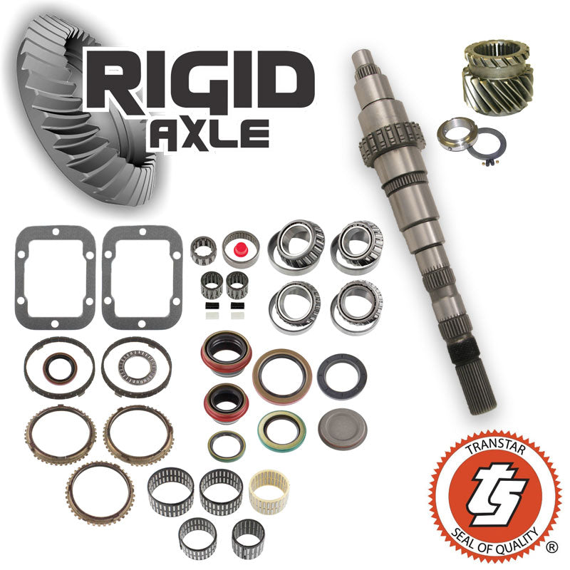 Dodge NV4500 Transmission Rebuild kit with Main Shaft, 5th Gear, Updated Nut, and Bearing Kit