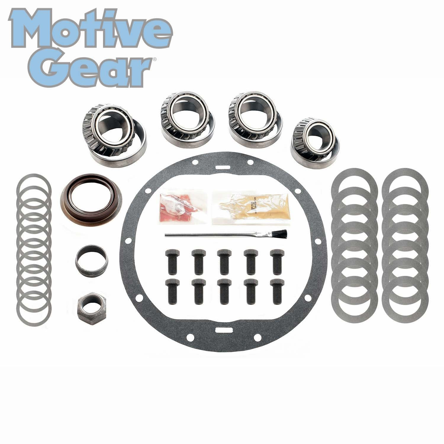 4.10 RING AND PINION /& INSTALLATION KIT 99-08 GM 8.6 10 BOLT