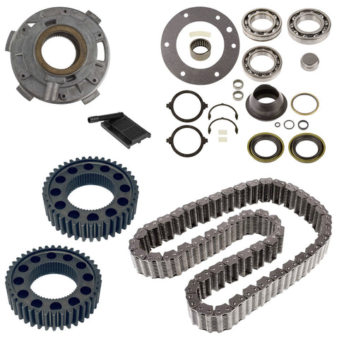Dodge 4WD NP271 Transfer Case Rebuild Kit w/ Bearings Seals Chain Pump Sprockets