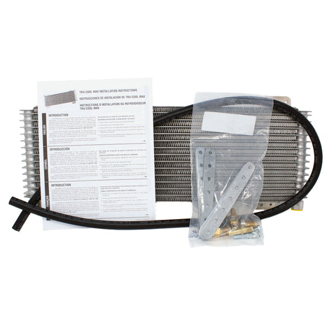 Tru-Cool Max 40K Transmission Fluid Oil Cooler with Accessories