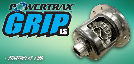 Powertrax Grip LS Limited Slip Differential Positraction Unit