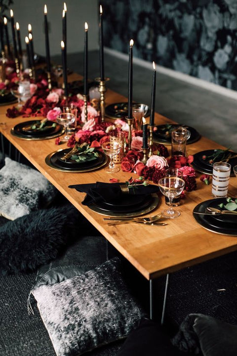 Stay on Trend with TableclothsFactory: Three Jewel-Toned Tablescapes to Trigger Your Creativity