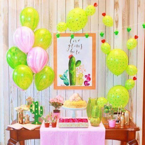 A Few Ways to Throw a Cactus & Succulent Party on a Budget