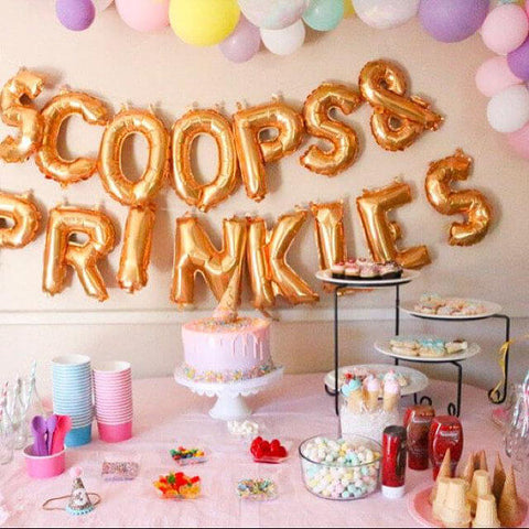Gather Inspiration to Throw a Fabulous Ice Cream and Sprinkles Themed Party