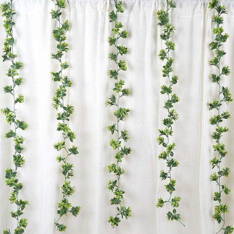Garland as the Easiest Way to Refresh Your Wedding Reception Hall