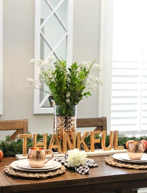 Contemporary Décor Ideas for Your Thanksgiving Tablescape