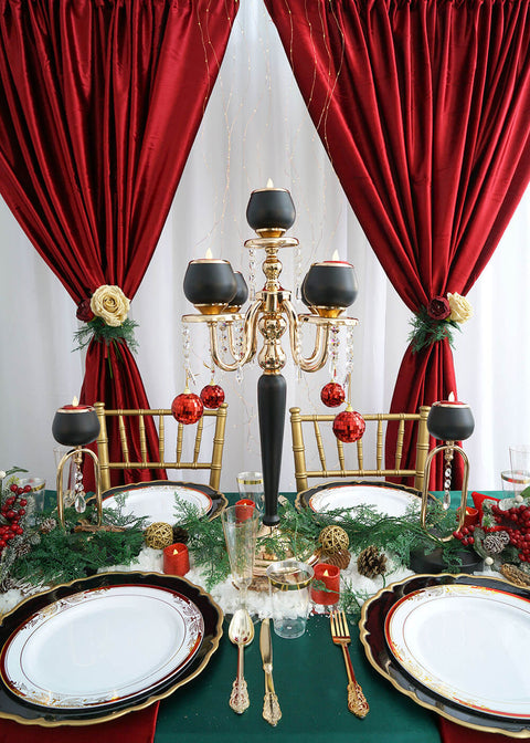 Chic Christmas Table Decor for Your Holiday Dinner Party