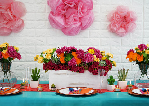 Liven up the Cinco de Mayo Spirit with Cheerful Table Decorations Ideas!