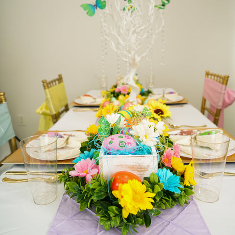 An Enchanting Easter Table Setup To Swing Into Spring!