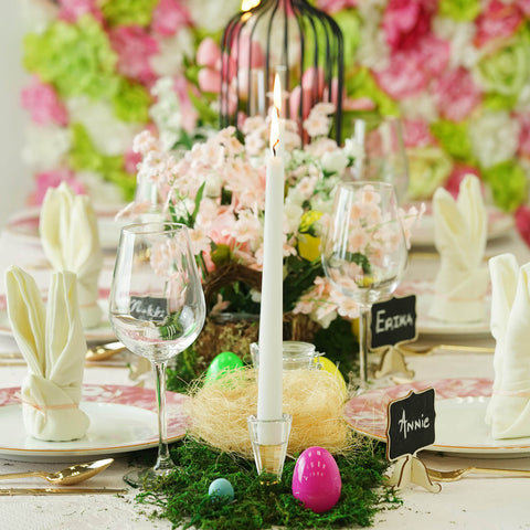 Whimsical Easter Decorations to Enrich your Dinner Party
