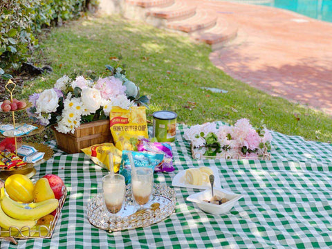 Bask in the summers with Our Lovely Backyard Picnic Setup
