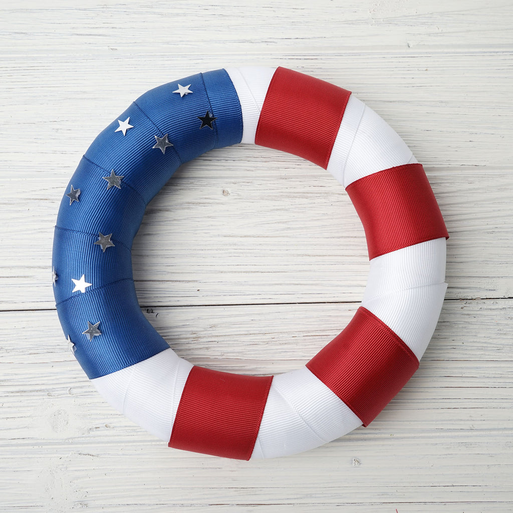 A Few Memorial Day Wreaths from Tableclothsfactory