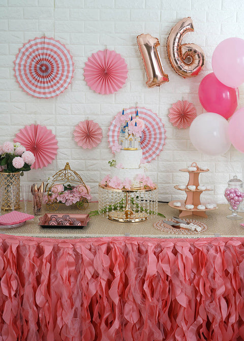 Imperial Dessert Station for a Sweet 16 Princess Party