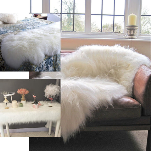 Fun Ways To Incorporate Soft Faux Fur Sheepskin into Your Home Decor!