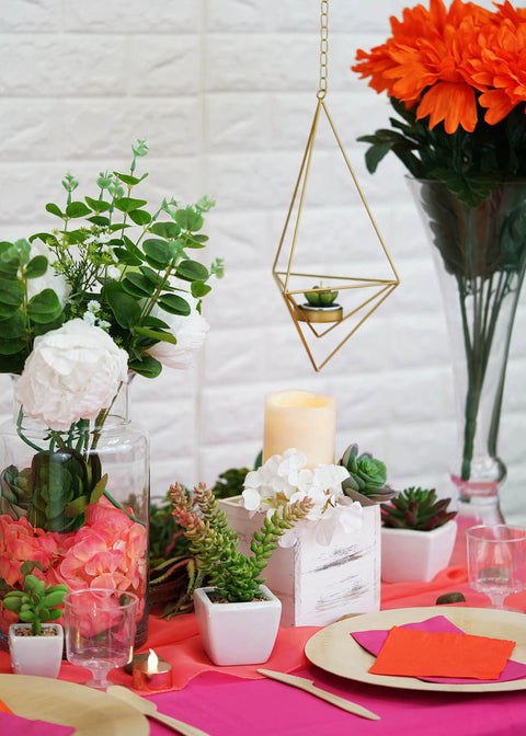 Unique Summer Succulent Tablescape Ideas To Transform Your Next Event!