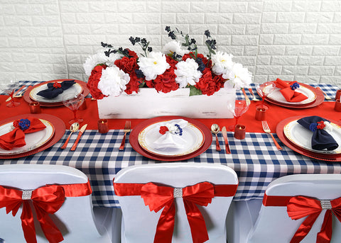 Chic Table Setup for Your Last Minute Veterans Day Decor