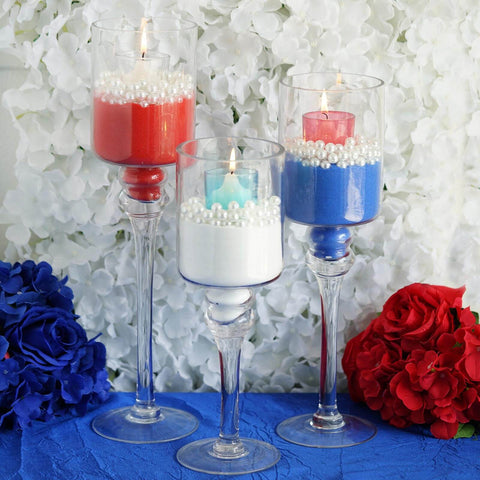 Chic Memorial Day Candle Decoration to Ooze Patriotism