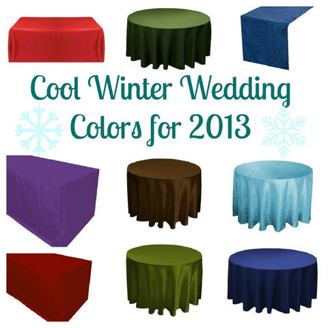 Winter Wedding Colors for Your Big Day