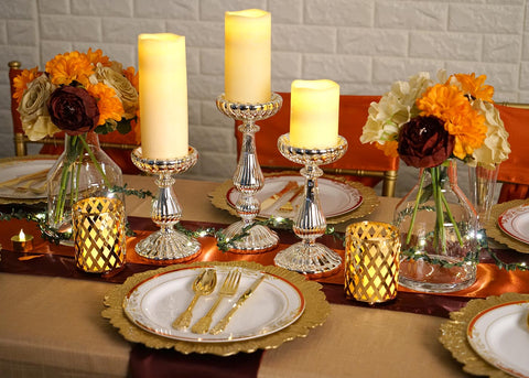 Last-Minute Thanksgiving Table Decor for a Lavish Setup
