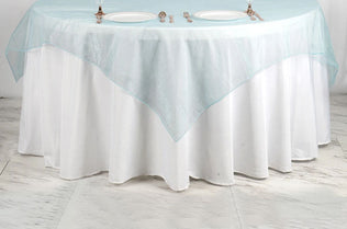 Delicieux Organza Table Overlays