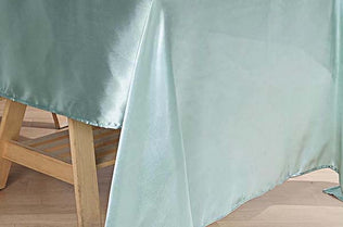 Satin Rectangle Tablecloths