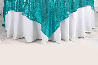 Beau Sequin Table Overlay