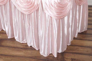 Round Table Skirts Decorator.Table Skirts Tableclothsfactory Com