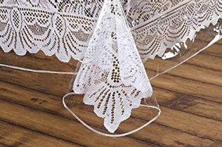 Vinyl Lace Table Cloth U0026 Protectors