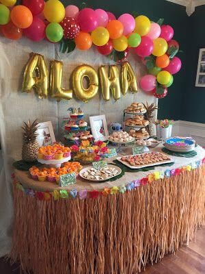 Bring A Hawaiian Flair Into Your Party With A Tropical