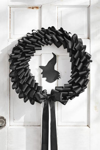 Halloween Wreath Decor Ideas