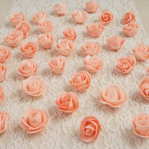 Pink Rose Flower Heads
