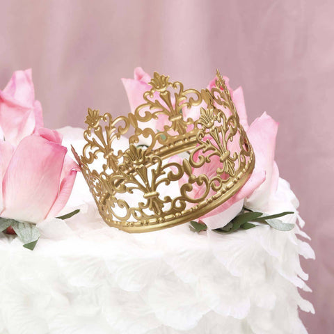 pink and gold princess themed decor