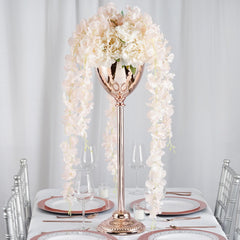 Tall Metal Floor Vases