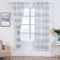 Printed Linen Curtains