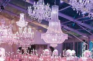 Crystal & Glass Chandeliers