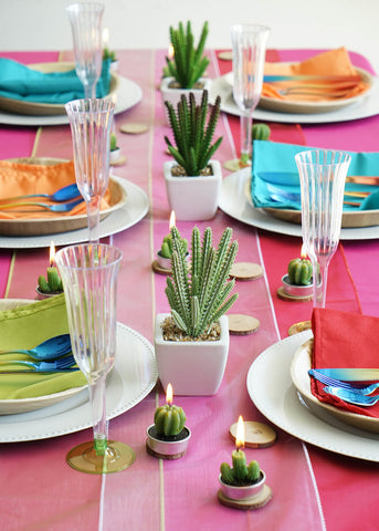 Cinco de Mayo Table Setup