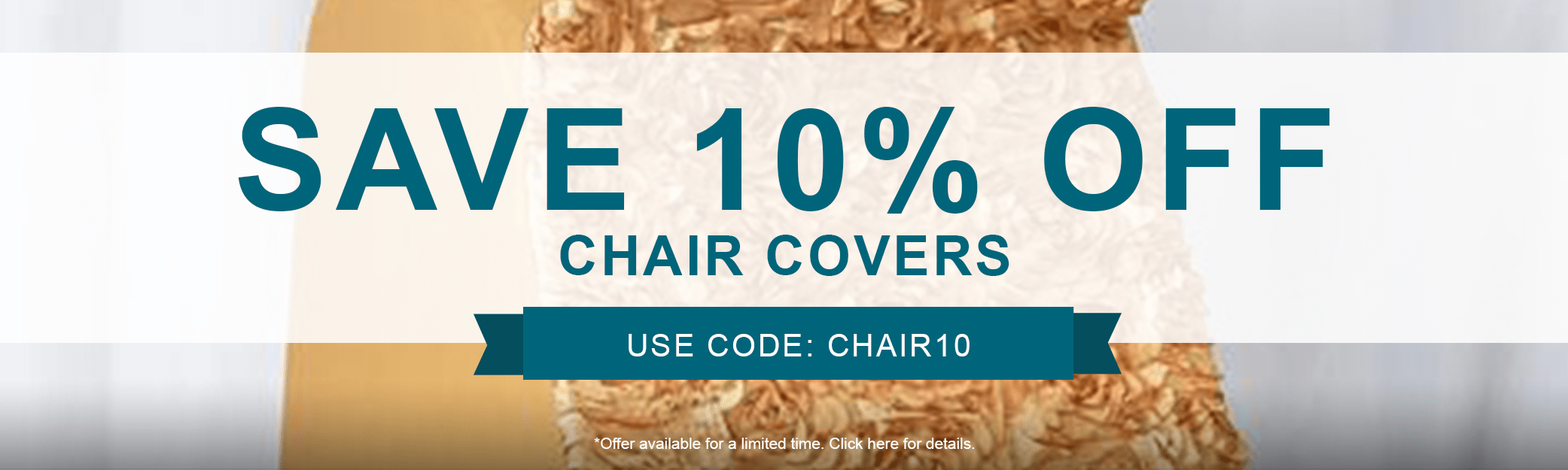 10% off Chair Covers