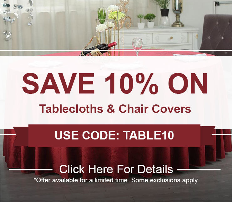 tableclothsfactory com | High Quality Table Linens at