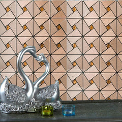 Metal Backsplash Sheets