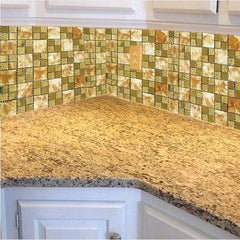 Metal Tile Backsplash & Mirror Mosaic Tiles