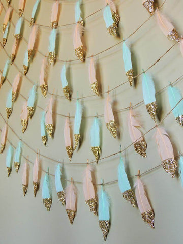 Craft Feathers Decor Ideas