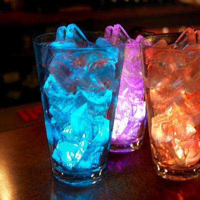 4 Pack 13 Color Assorted Waterproof Submersible LED Vase Lights With IR Remote