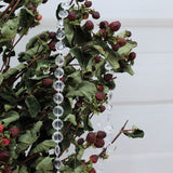 30 Ft Clear Acrylic Crystal Diamond Chain Strand Bead By Roll